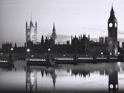 Big Ben and the Houses of Parliament Poster by Monochrome Gallery for $41.25 CAD