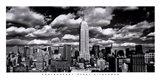New York, New York, Clouds Over Manhattan