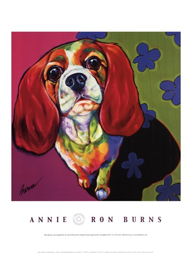 Annie Poster by Ron Burns for $28.75 CAD