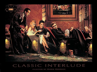Classic Interlude Poster by Chris Consani for $67.50 CAD