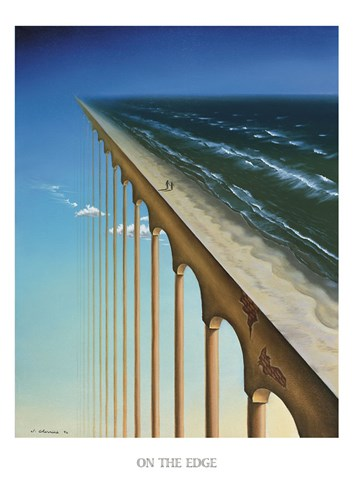 On the Edge Poster by Samy Charnine for $36.25 CAD