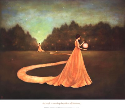 Unwinding the Path to Self-Discovery Poster by Duy Huynh for $48.75 CAD