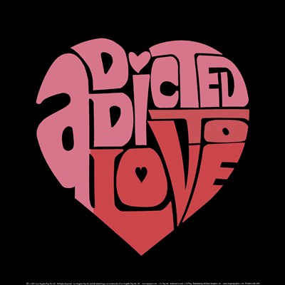 Addicted to Love Poster by LA Pop for $18.75 CAD