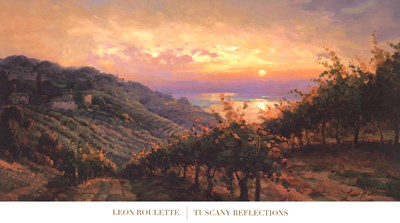 Tuscany Reflections Poster by Leon Roulette for $52.50 CAD