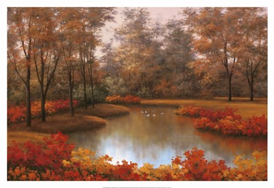 Beauty of Autumn Poster by Diane Romanello for $93.75 CAD