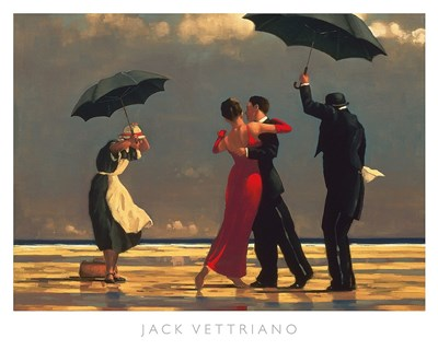 The Singing Butler Poster by Jack Vettriano for $77.50 CAD