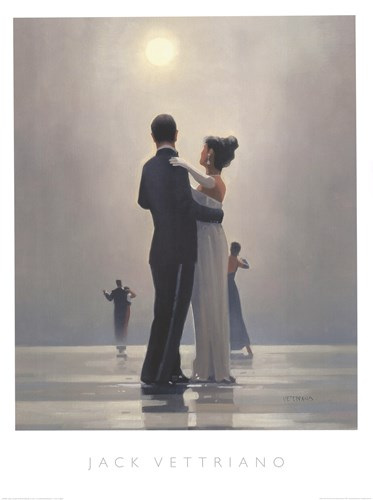 Dance Me to the End of Love Poster by Jack Vettriano for $77.50 CAD
