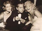 Hollywood Triangle (Bacall, Bogart, Monroe)