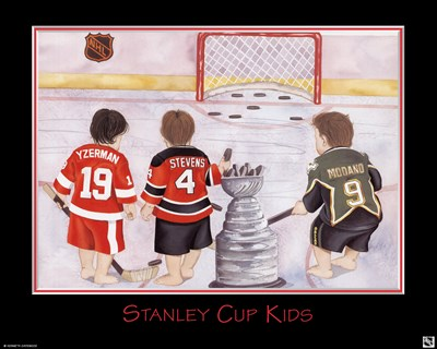 Stanley Cup Kids Poster by Kenneth Gatewood for $16.25 CAD