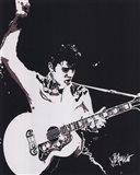 Elvis - Guitar (postercard)