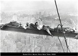 Men on Beam - Radio City, 1932