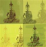 Buddha - green