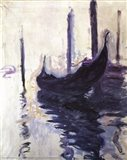 Gondolas in Venice, c.1910