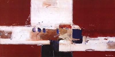 Abstrakt IV Poster by Ron Van der Werf for $58.75 CAD