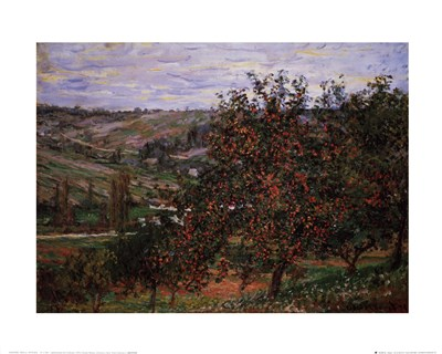 Apple Trees Poster by Claude Monet for $18.75 CAD