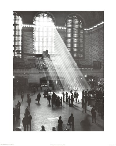 Grand Central Station Poster by Unknown for $22.50 CAD