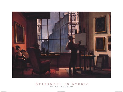 Afternoon in Studio Poster by Juarez Machado for $37.50 CAD