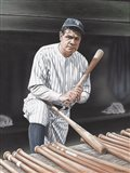 Babe Ruth On Deck
