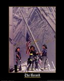 Firemen Raising the Flag at World Trade Center