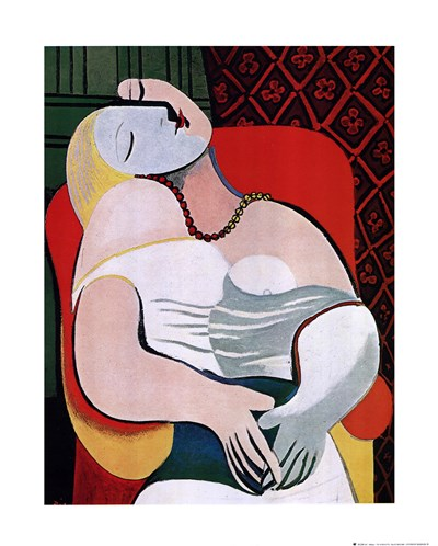 Dream Poster by Pablo Picasso for $18.75 CAD