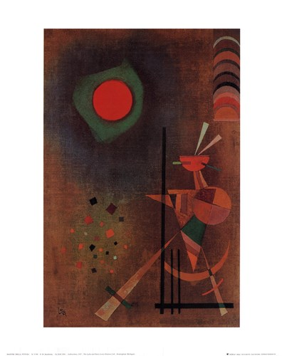 Aufleuchten, c.1927 Poster by Wassily Kandinsky for $15.00 CAD