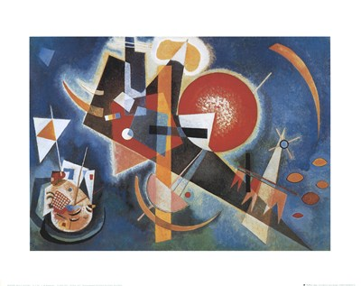 Im Blau, c.1925 Poster by Wassily Kandinsky for $15.00 CAD