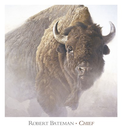 Chief (detail) Poster by Robert Bateman for $66.25 CAD