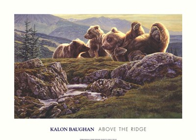 Above the Ridge Poster by Kalon Baughan for $40.00 CAD