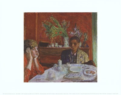The Dessert, or After Dinner, c. 1920 Poster by Pierre Bonnard for $16.25 CAD