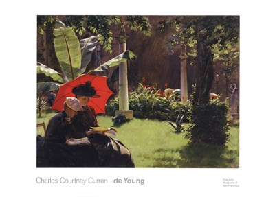 Afternoon in the Cluny Garden, Paris, 1889 Poster by Charles Courtney Curran for $37.50 CAD
