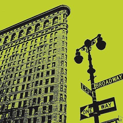 Acid Flatiron Poster by Erin Clark for $20.00 CAD