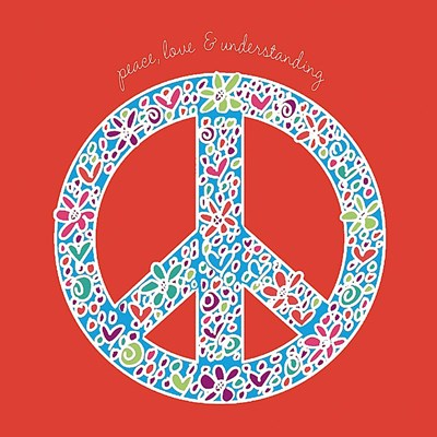 Peace, Love, and Understanding Poster by Erin Clark for $20.00 CAD