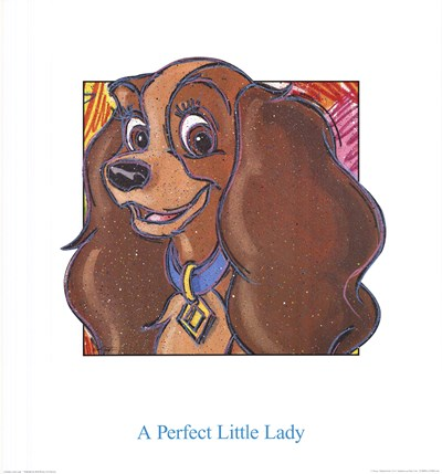 A Perfect Little Lady Poster by Walt Disney for $35.00 CAD