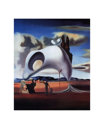 Atavistic Vestiges After the Rain, c.1934 Poster by Salvador Dali for $15.00 CAD
