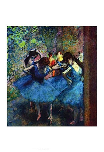 Ballerinas Poster by Edgar Degas for $18.75 CAD
