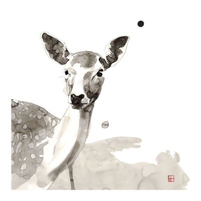 Deer Poster by Philippe Debongnie for $32.50 CAD