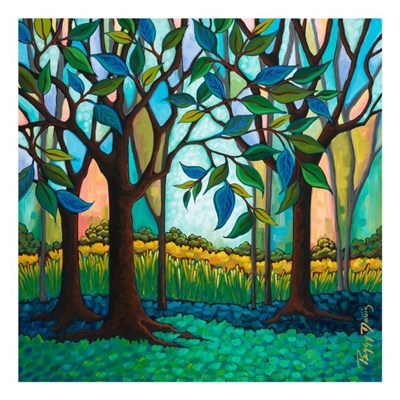 Whispering Woods Poster by Peggy Davis for $40.00 CAD