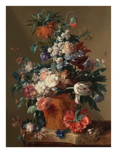 Jan van Huysum, Vase of Flowers Poster by Dutch Florals for $40.00 CAD