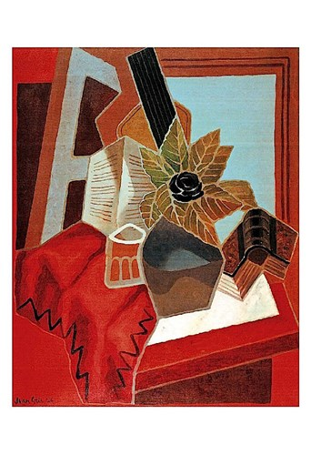 Flowers on the Table Poster by Juan Gris for $20.00 CAD