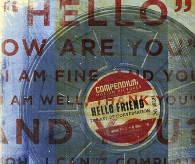 Hello Friend Poster by John W. Golden for $20.00 CAD