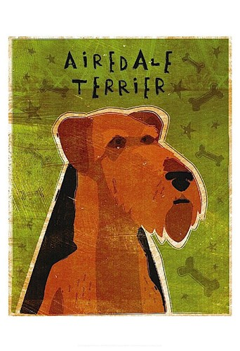 Airdale Poster by John W. Golden for $20.00 CAD