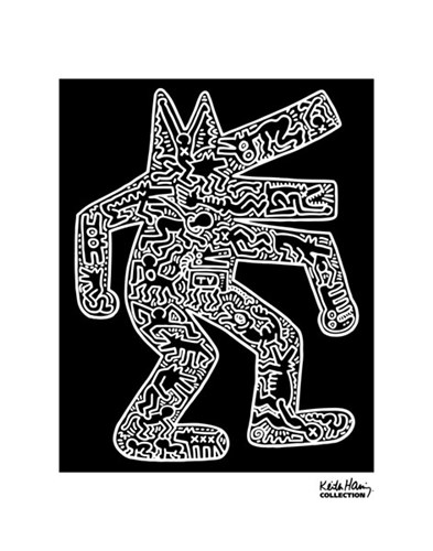 Dog, 1985 Poster by Keith Haring for $32.50 CAD