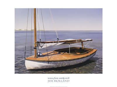 Across from Sandy Neck Poster by Jim Holland for $50.00 CAD