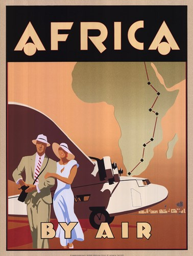 Africa by Air Poster by Bill James for $33.75 CAD