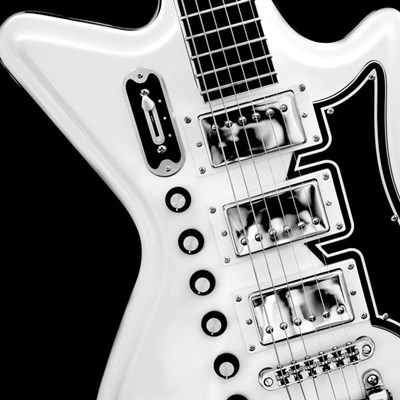 Classic Guitar Detail II Poster by Richard James for $20.00 CAD