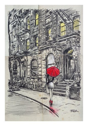 Borough Walk Poster by Loui Jover for $40.00 CAD