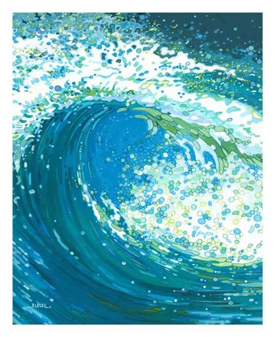 Watch the Wave Poster by Margaret Juul for $40.00 CAD