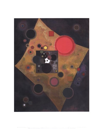 Accent en Rose, c.1926 Poster by Wassily Kandinsky for $15.00 CAD
