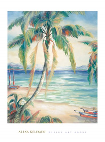 Tropical Breeze II Poster by Alexa Kelemen for $60.00 CAD