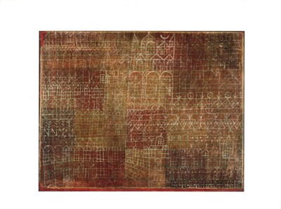 Cathedral, c.1924 Poster by Paul Klee for $16.25 CAD
